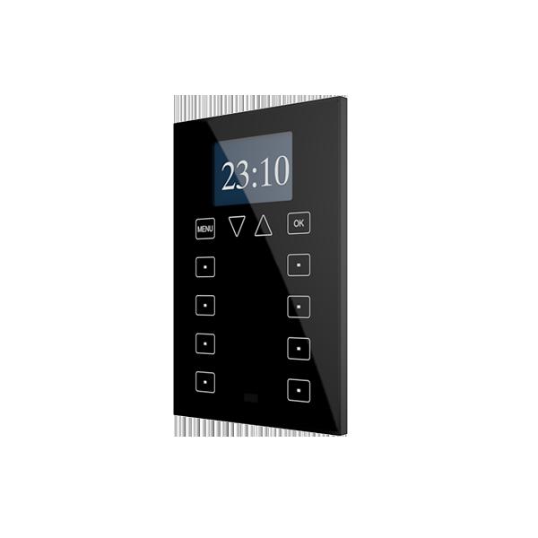Roll-ZAS. Controlador de estancias táctil con display - Negro