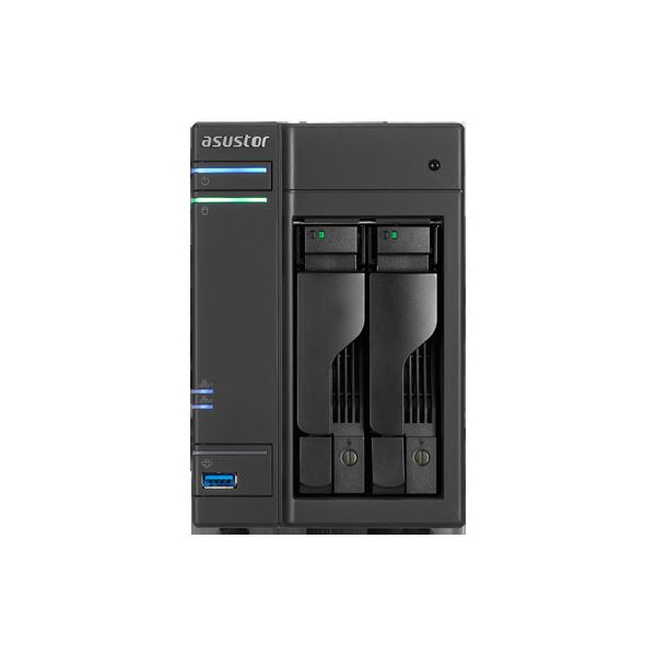 Asustor AS6202T de 2 bahías para 2 discos duros