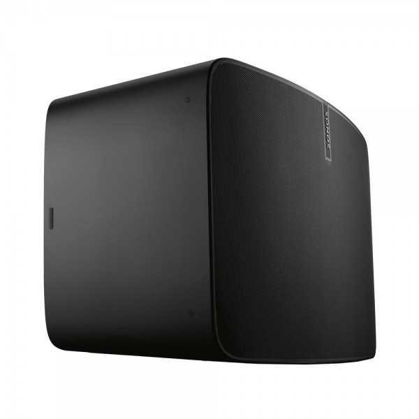 Pareja Sonos PLAY 1 - Sistema inalámbrico de música (1 woofer, 1 altavoz de agudos, Wi-Fi), color negro