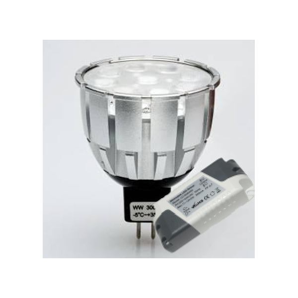DICROICA SPOT LED  MR16 / 10 W REGULABLE - PRO SERIES