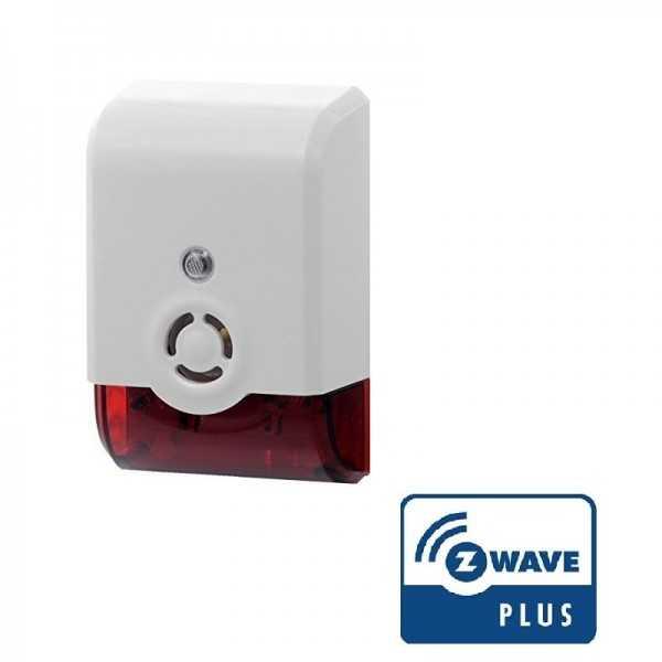 Sirena inalámbrica Z-Wave Plus de Vision (baterias)