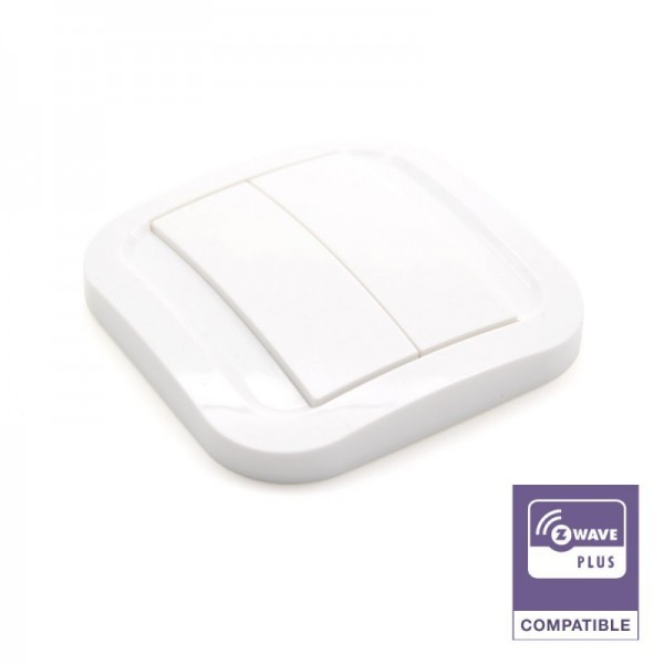 NODON interruptor de pared Z-Wave Plus (Blanco)