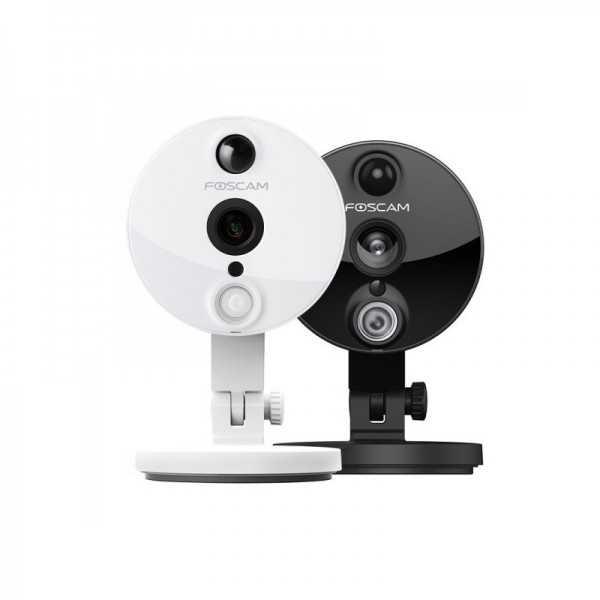 Foscam C2 camara IP - Negra WIFI 2.0 Mpx H264. con ranura Micro SD Grabación de Alarmas en vídeo