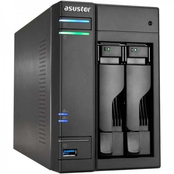 Asustor AS6102T de 2 bahías para 2 discos duros