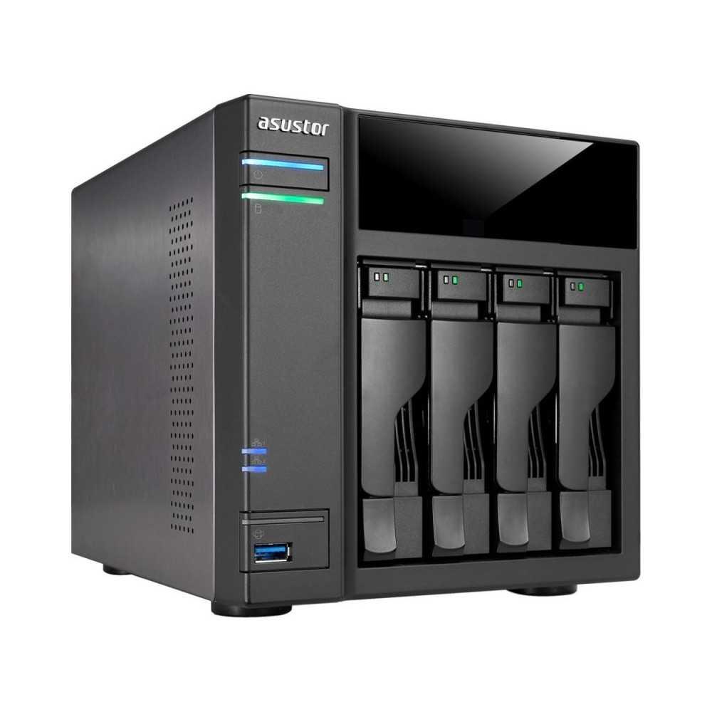Asustor AS6104T de 4 bahías para 4 discos duros
